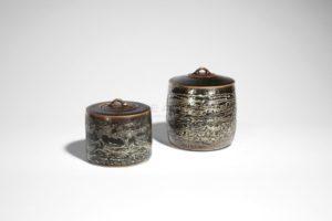 Petite boîte métallifère filigranée | Valérie Hermans