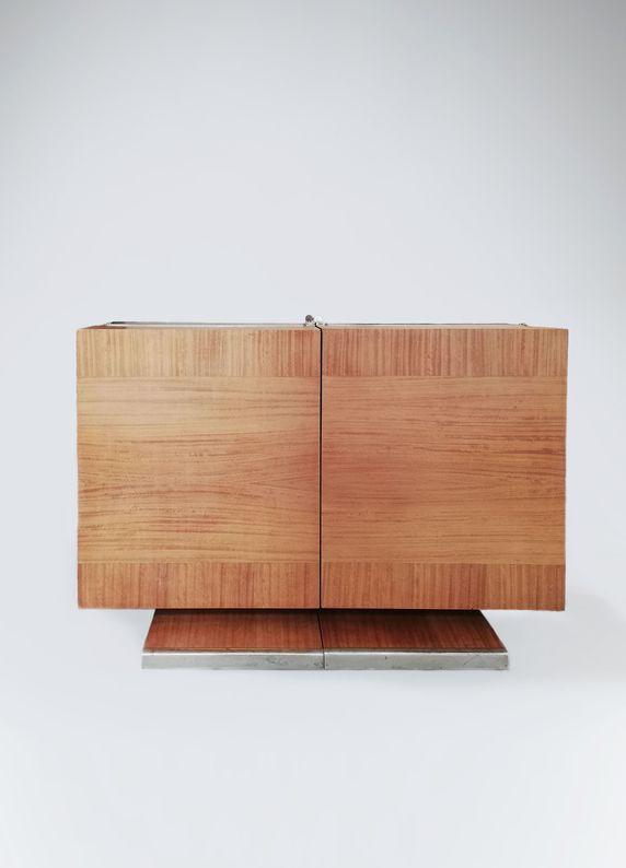 Travail français - Meuble bar2_ Galerie Arcanes l Arts Décoratifs XXe - Art Contemporain Paris