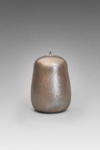 Boîte pansue métallescente étoilée | Valérie Hermans