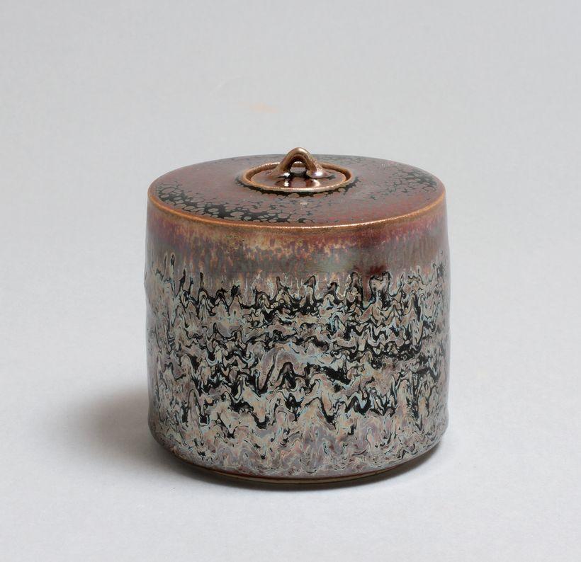 Hermans Valérie - Boite à thé filigranée bis_ Galerie Arcanes l Arts Décoratifs XXe - Art Contemporain Paris