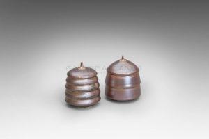 Petits lampions rose cuivre | Valérie Hermans