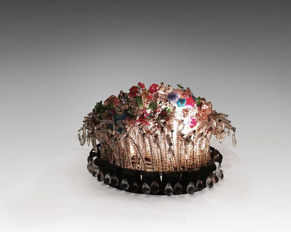 Sue et Mare - Surtout de table éclairant_ Galerie Arcanes l Arts Décoratifs XXe - Art Contemporain Paris