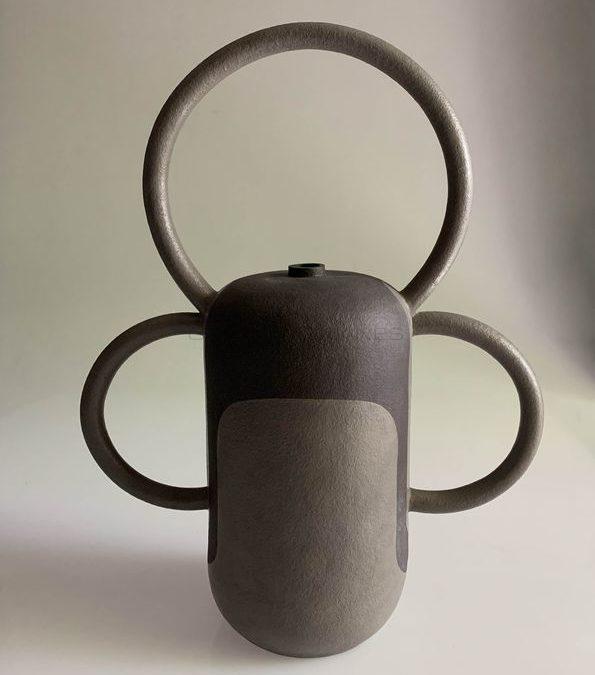 """Jeu d'anses"", Stoneware, 2017 | Jeanne Bonnefoy-Mercuriali"