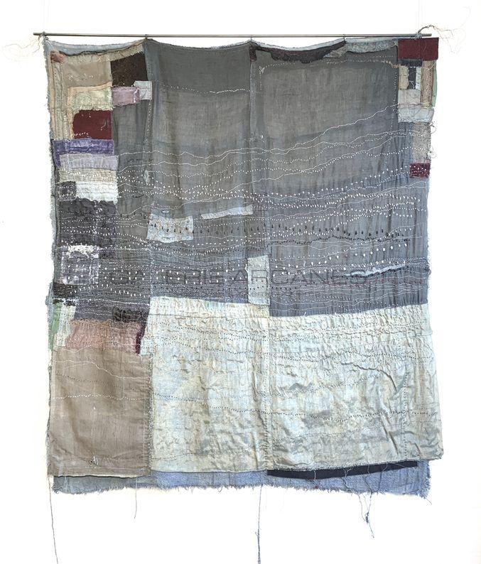 Romano Annita - Endless Blue_ Galerie Arcanes l Arts Décoratifs XXe - Art Contemporain Paris