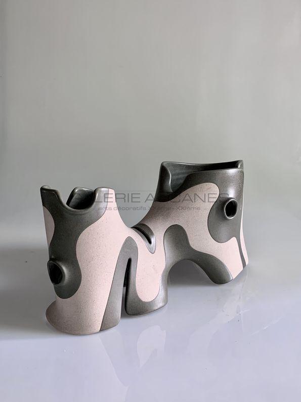 Gustavo Perez - Sculpture onirique_ Galerie Arcanes l Arts Décoratifs XXe - Art Contemporain Paris