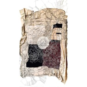 Métamorphose, broderie à la main, 2020 | Annita Romano