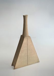 Grand soliflore, grès, circa 1975 | Bruno Gambone