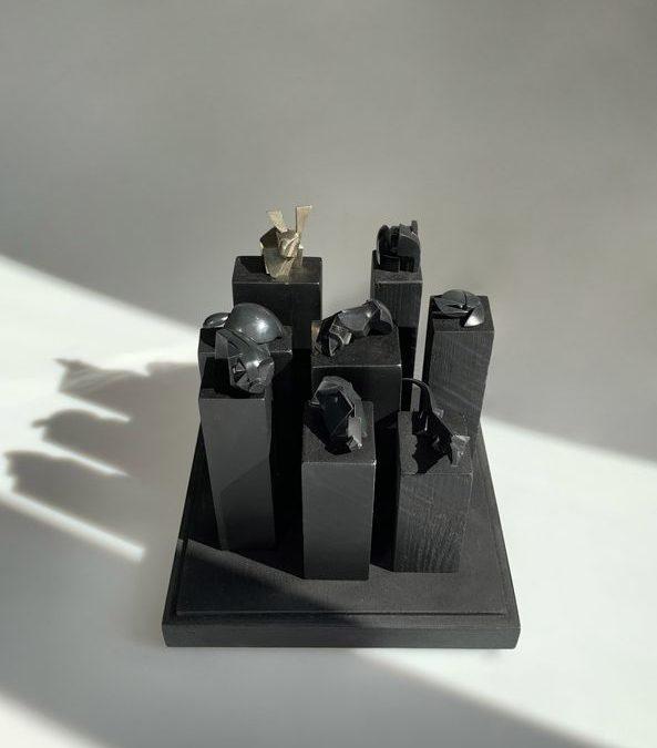 Zoo, bronze sculptures, circa 2013 | Jacques Owczarek